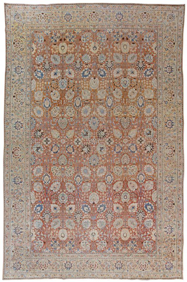 Antike persische Tabriz Teppich BB1544