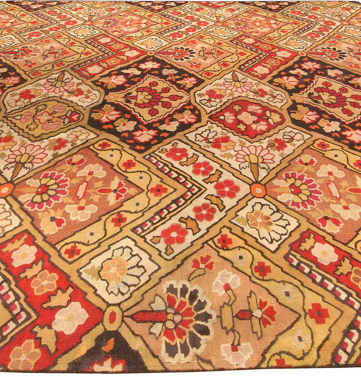 Antique Russian Bessarabian Carpet (fragment) BB4431