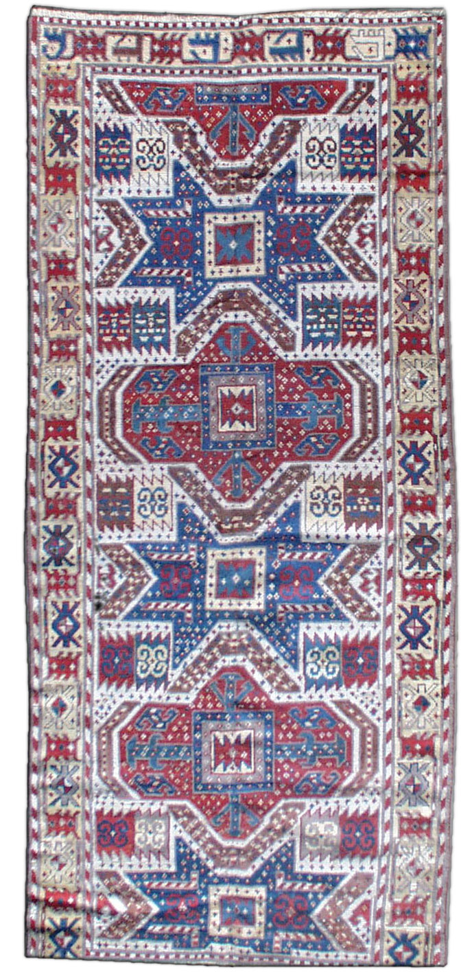 Caucasian Kazak Rug BB0474