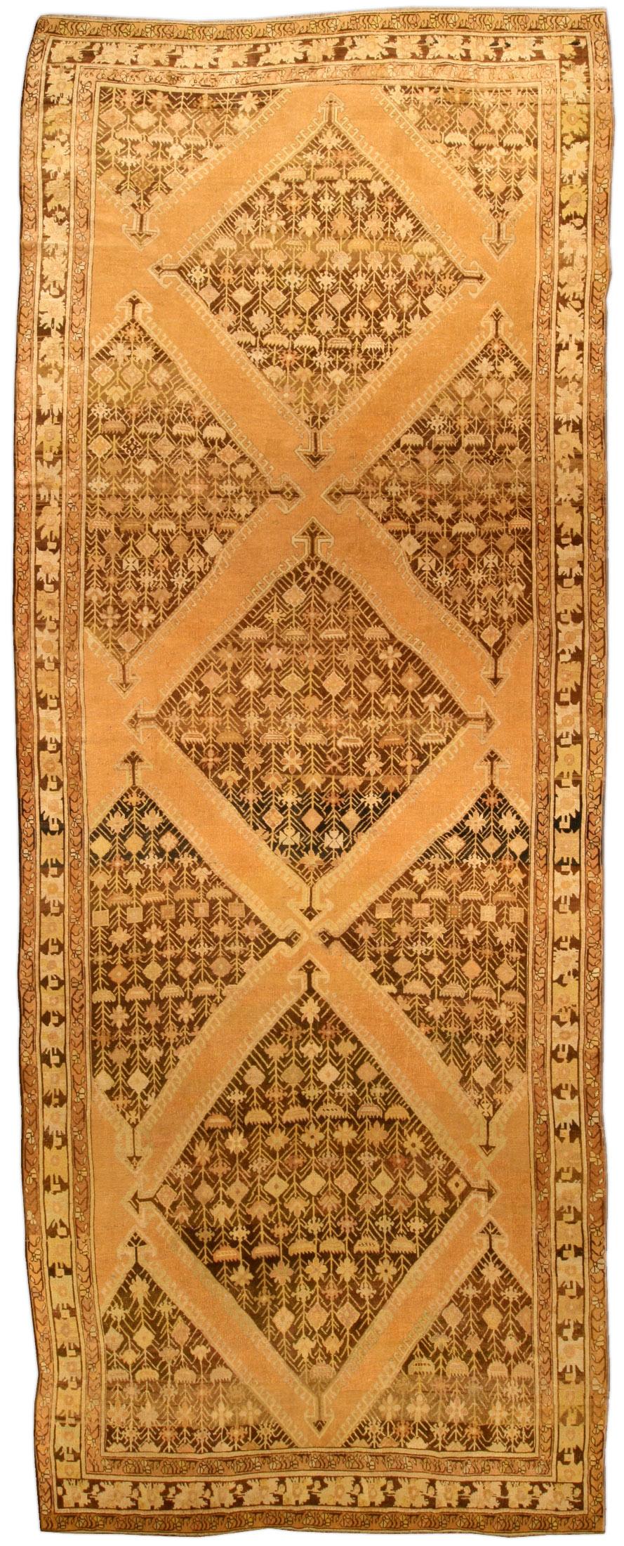Antique Russian Karabagh gallery Carpet BB4511