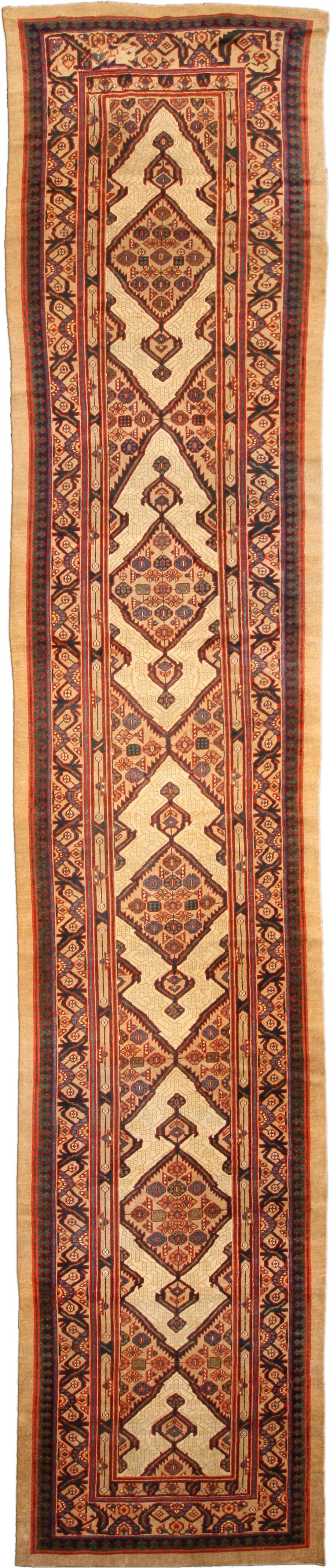 Antique Persian Sarab Runner BB4747