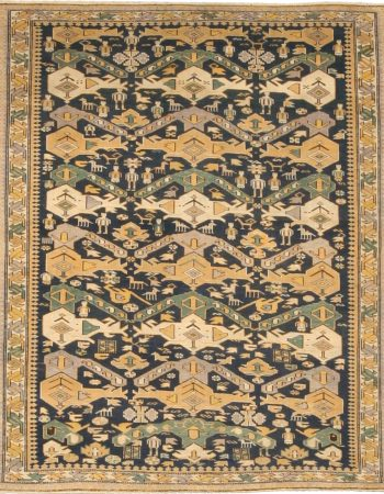 Antique Shirvan Rug BB4755