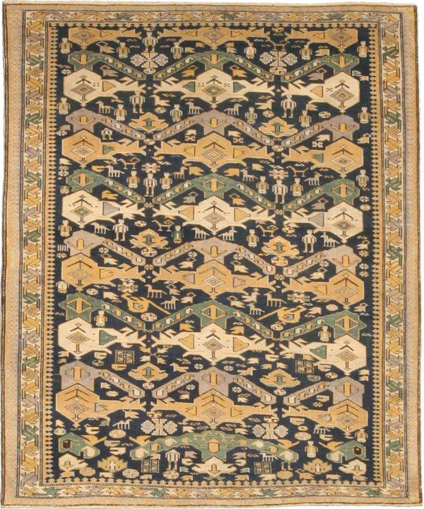Antique Shirvan Rug BB4755
