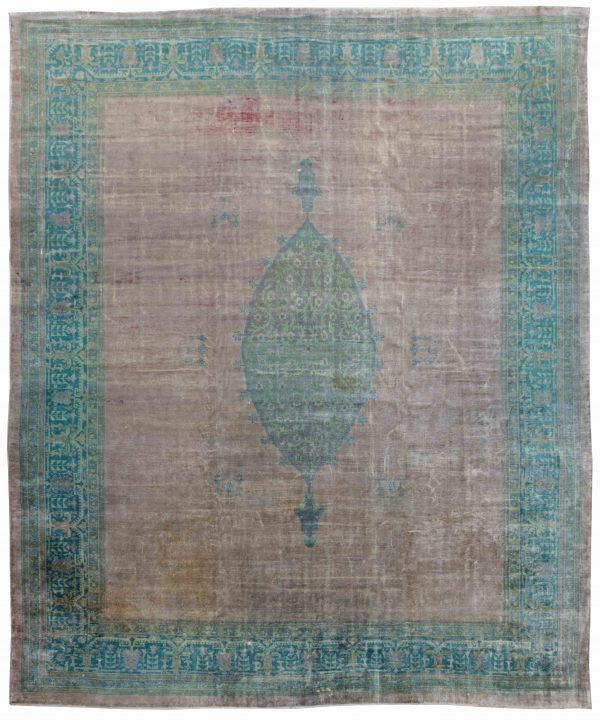 Large Antique Turkish Borlou Rug BB4208
