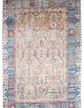 Vintage Turkish Ghiordes Rug BB1216