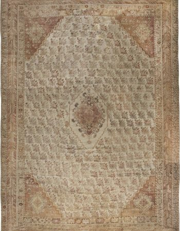 Vintage Turkish Oushak Rug BB2969