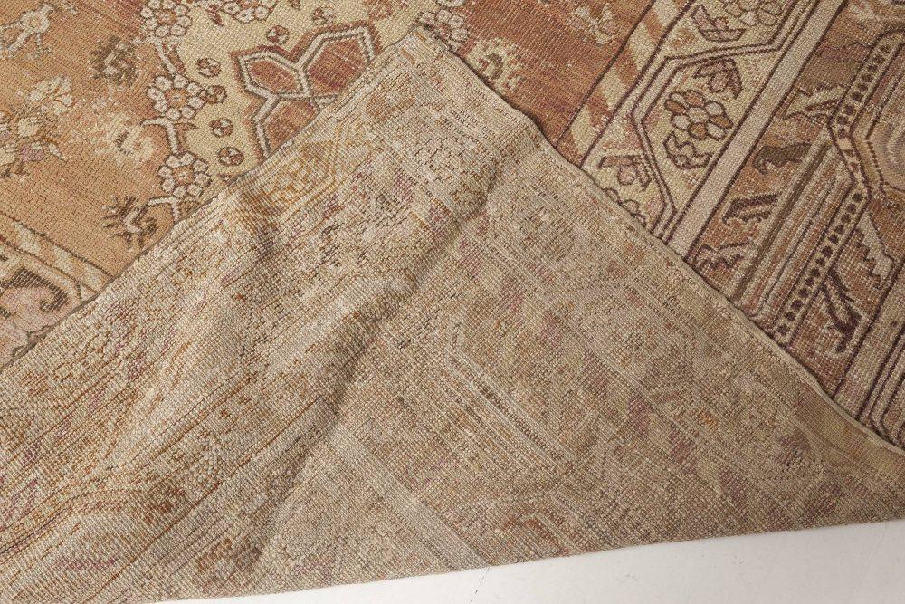 Large Antique Turkish Ghiordes Rug BB0804