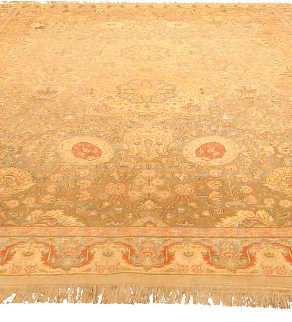 Antique Turkish Hereke Rug BB4740