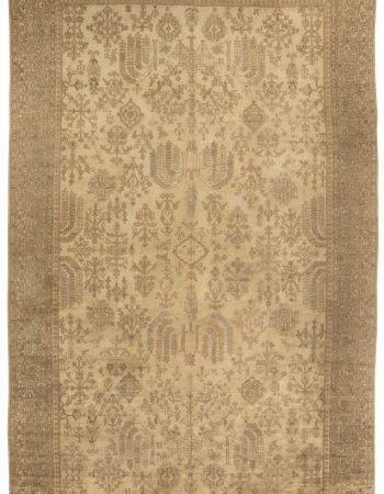 Antique Oushak Carpet BB4815