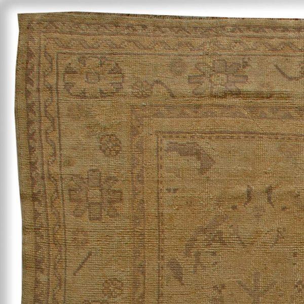 Antique Turkish Oushak Rug BB5967