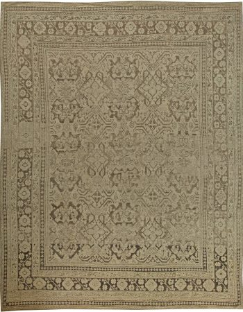 Antique Turkish Oushak Rug BB5995