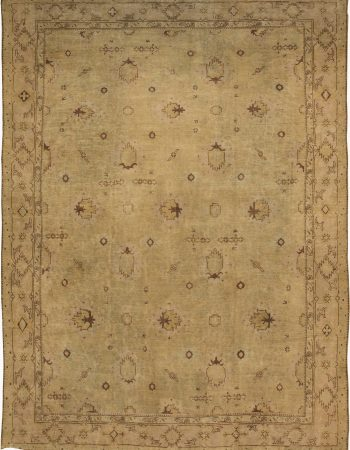 Antique Turkish Oushak Carpet BB6392