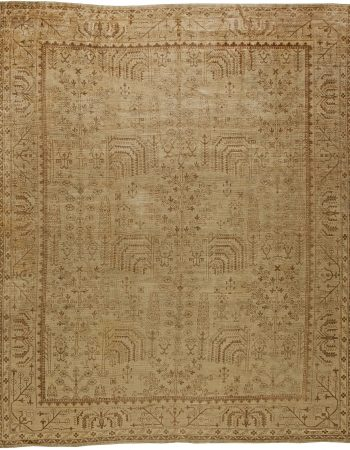 Antique Turkish Oushak Rug BB5651