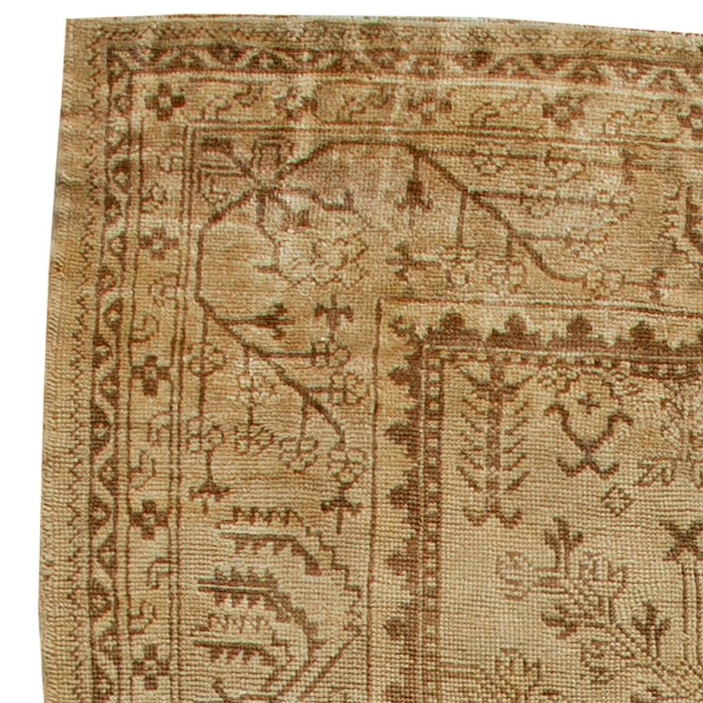 Antique Turkish Oushak Rug BB5651
