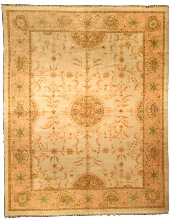 Vintage Turkish Oushak Carpet BB2391