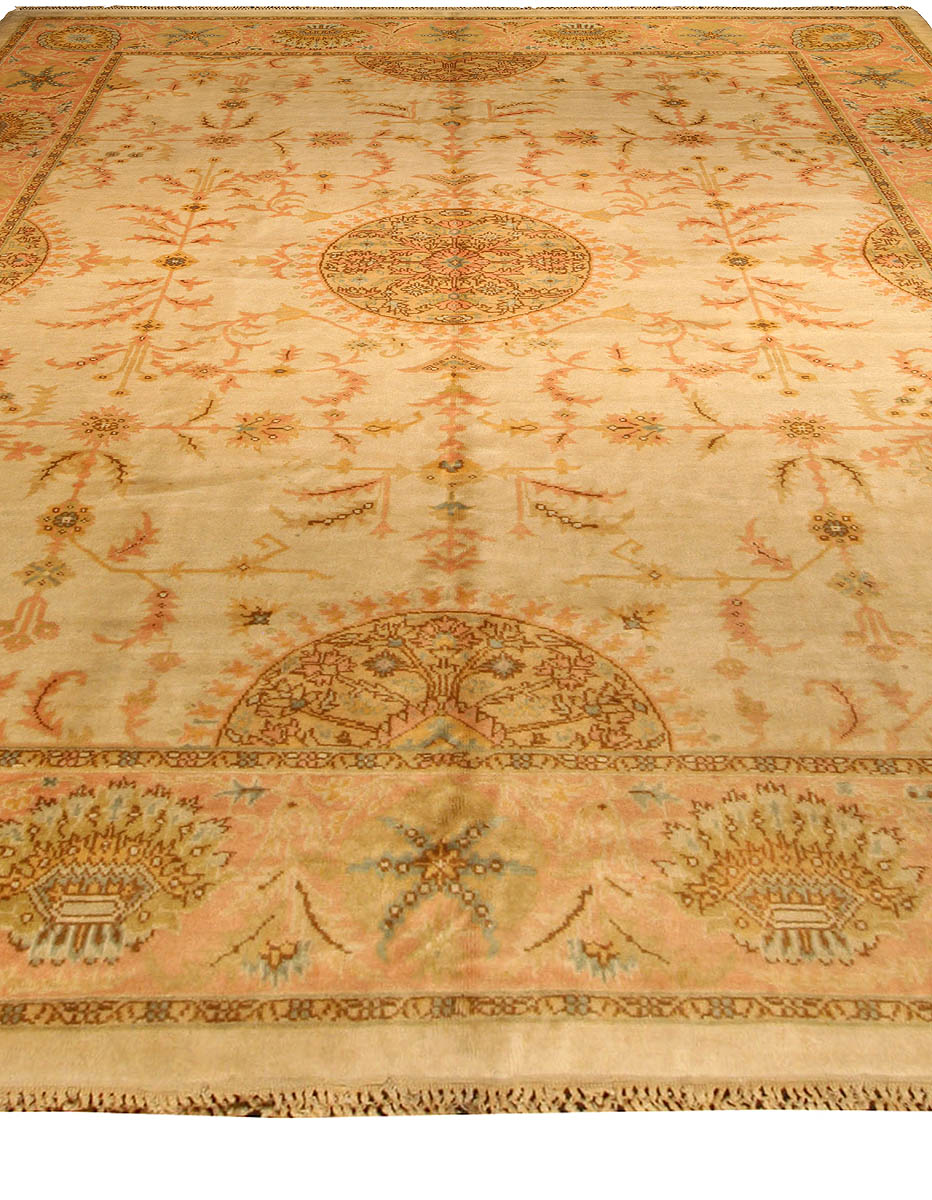 Vintage Turkish Oushak Carpet BB2391