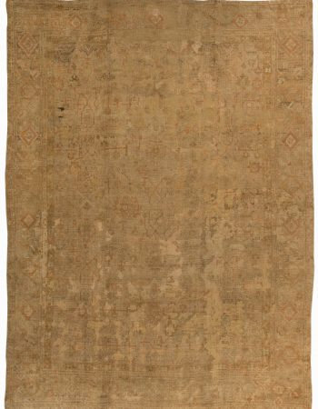 Antique Turkish Oushak Rug BB2522