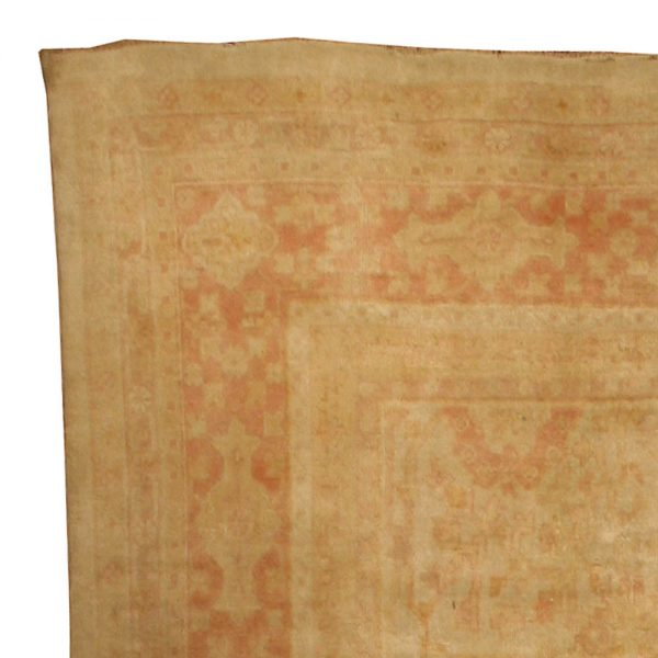 Antique Turkish Oushak Rug BB2814