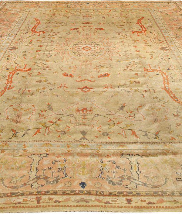Antique türkischen Oushak Rug BB3419