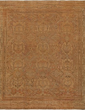 Antique Turkish Oushak Rug BB1296
