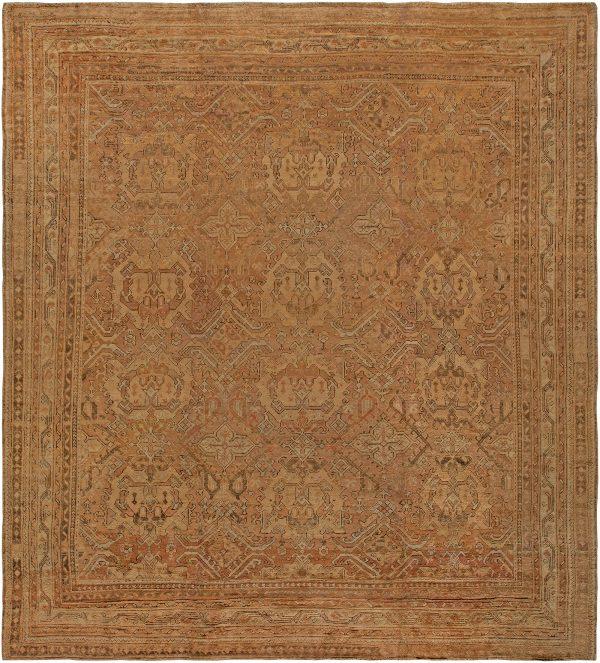 Antique türkischen Oushak Rug BB1296