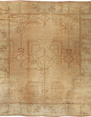 Antique Turkish Oushak Rug BB2140