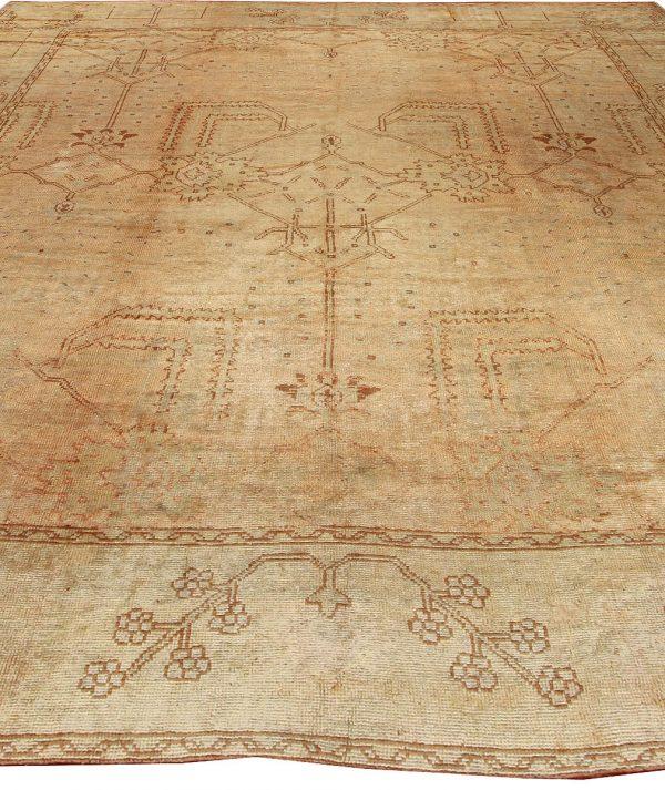 Antique türkischen Oushak Rug BB2140