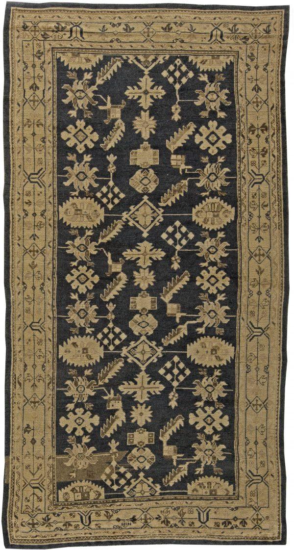Antique Turkish Oushak Rug BB5859