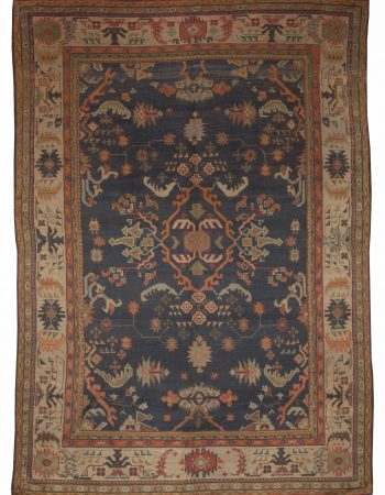 Antique Turkish Oushak Rug BB5083