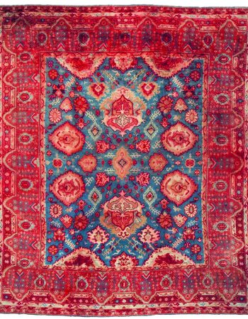 Large Vintage Turkish Oushak Carpet BB2931