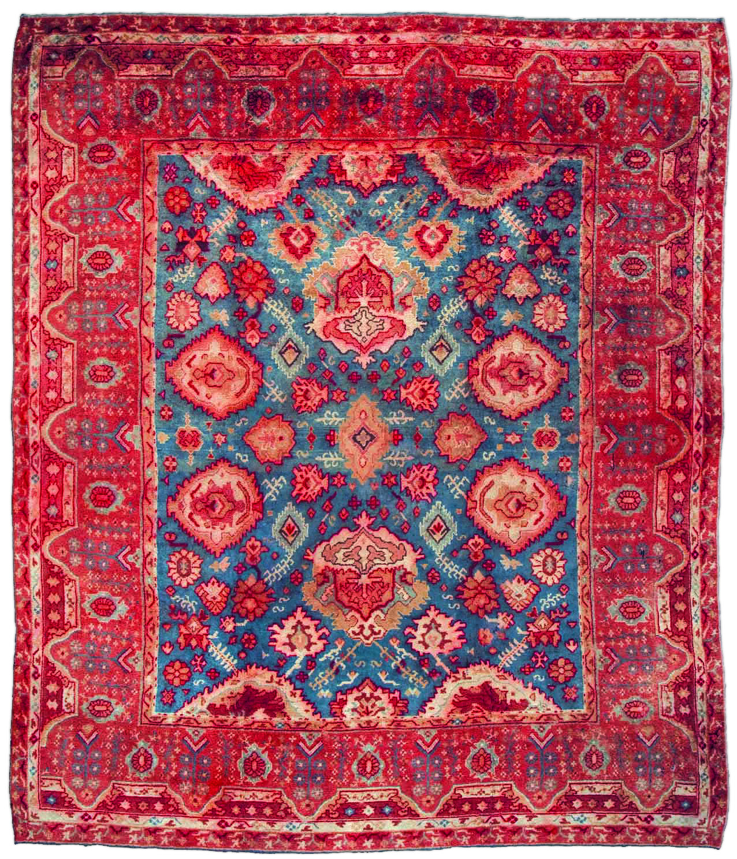 Antique Vintage Turkish Rugs: Large Vintage Turkish Oushak Carpet BB2931 By Doris Leslie