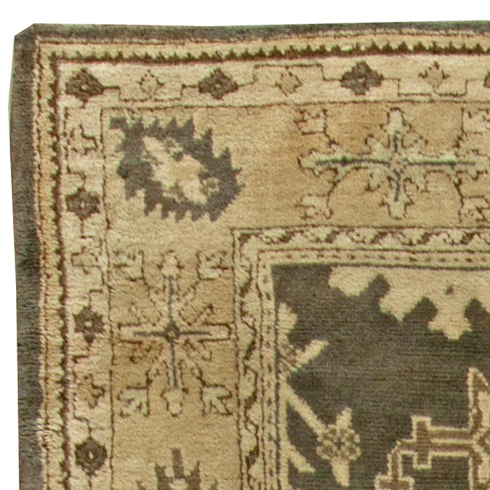 Antique Turkish Oushak Rug BB6101