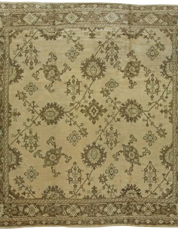 Vintage Turkish Oushak Rug BB6105