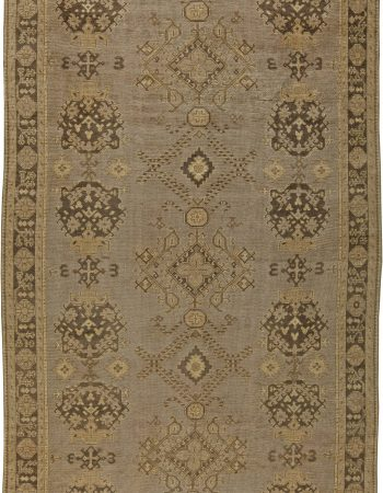 Turkish Oushak Rug BB5861