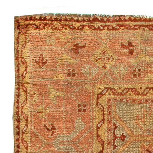 Vintage Turkish Oushak Rug BB5915