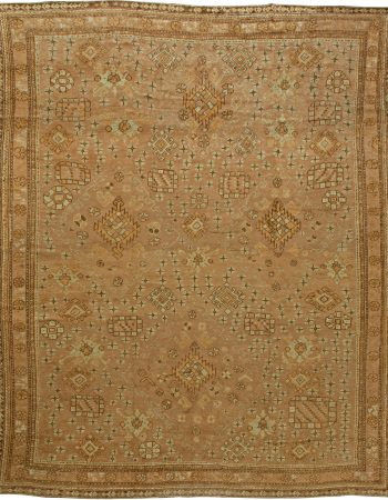 Antique Turkish Oushak Rug BB6084