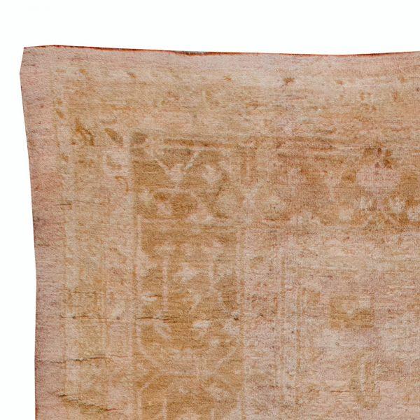 Antique Turkish Oushak Rug BB6167