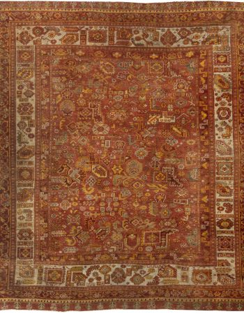 Antique Oushak Rug BB6332