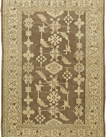 Vintage Turkish Oushak Rug BB6053
