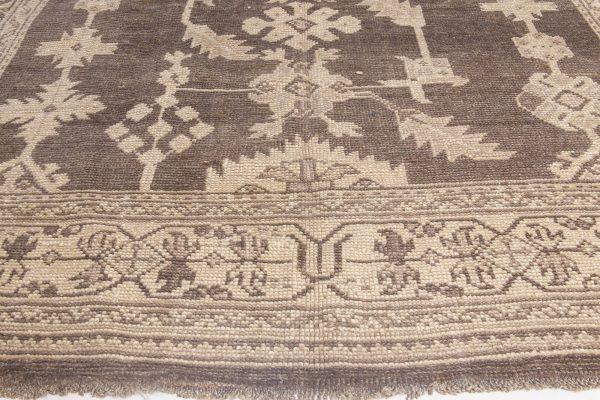 Vintage Turkish Oushak Rug BB6053