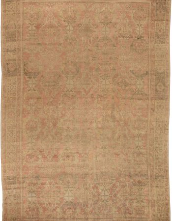 Oversized-Turkish Oushak Rug BB6419