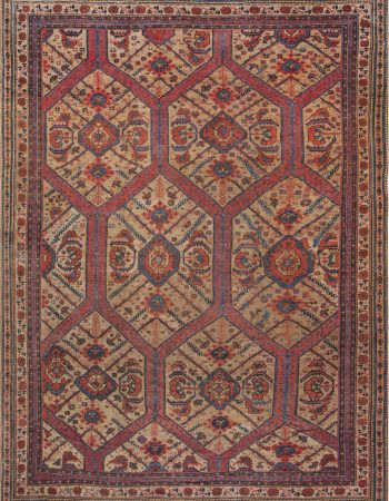 19th Century Crab Carpet BB4185
