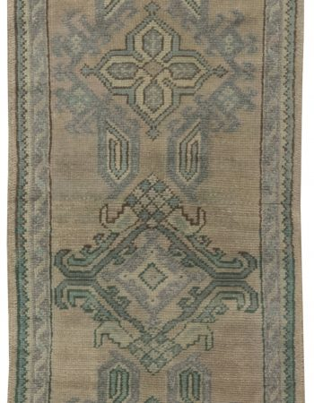 Antique Oushak Runner (fragment) BB6490
