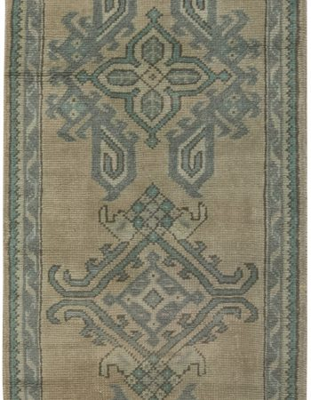 Antique Oushak Runner BB6492