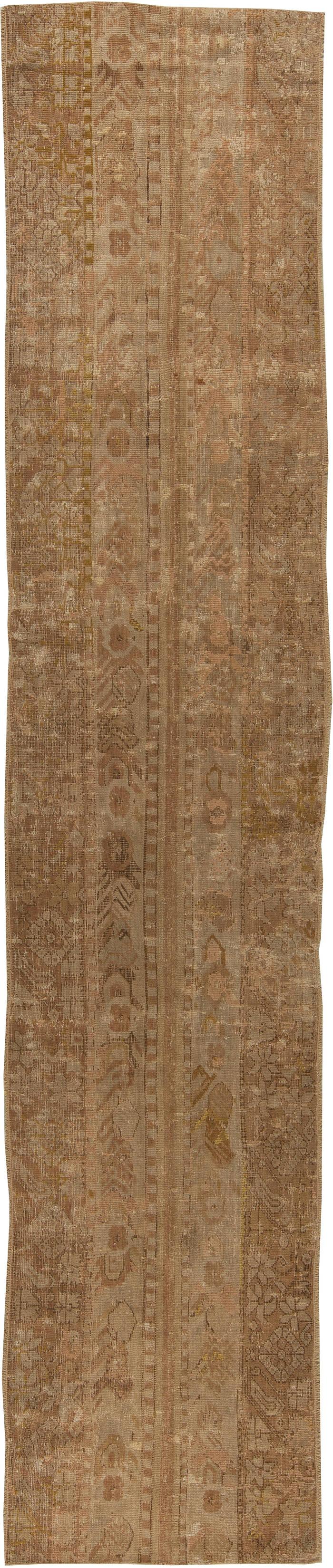 Antique Turkish Ghiordes Runner (size adjusted) BB5450