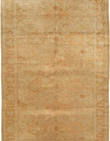 Antique Turkish Silk Sivas Rug BB6107