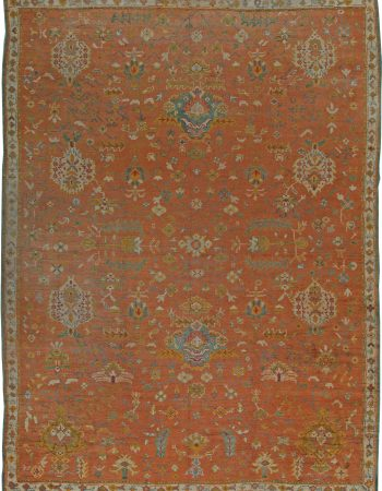 Antique Turkish Oushak Rug (size adjusted) BB5531