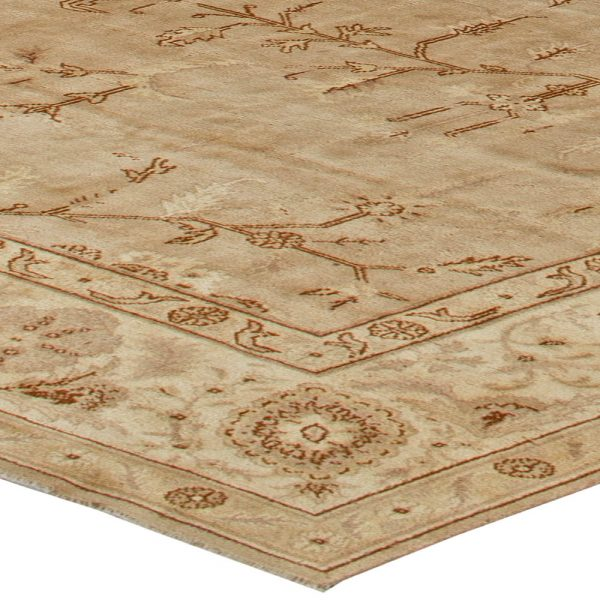 Oversized Antique Turkish Borlou Rug BB5597