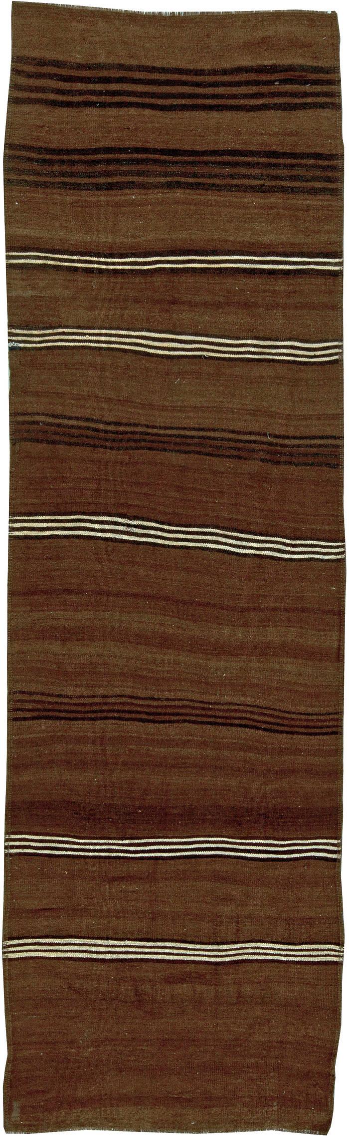 Antique Flat weave Turkish Runner BB5784