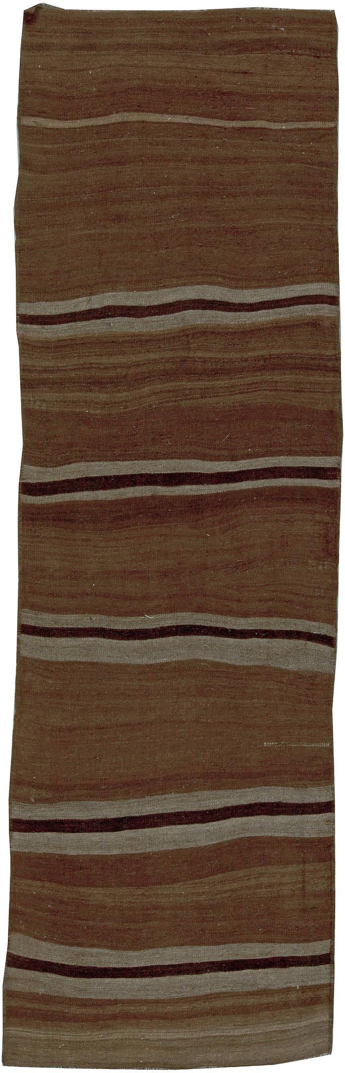 Vintage Flat weave Turkish Runner BB5783